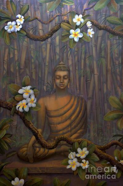 Wall Art - Painting - Nature Of Buddha by Yuliya Glavnaya