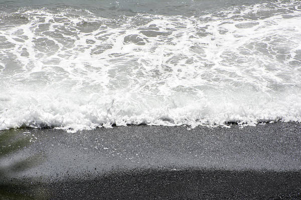 Photograph - Natures Black Sand by Colleen Coccia