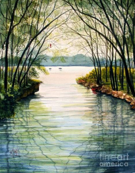 Wi Wall Art - Painting - Nature's Cathedral by Marilyn Smith