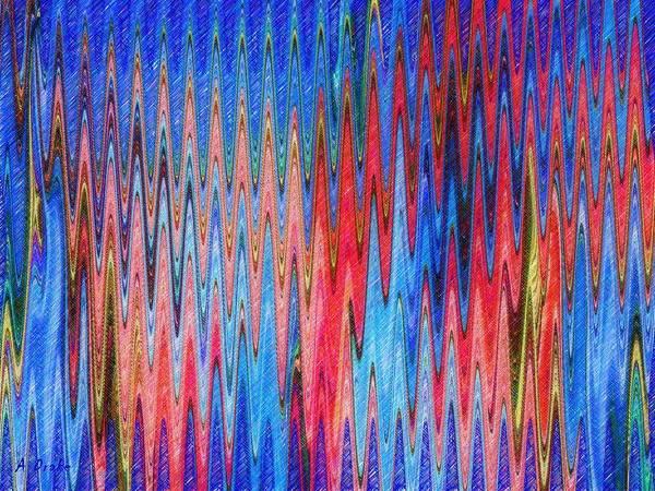 Natures Electrocardiogram Art Print