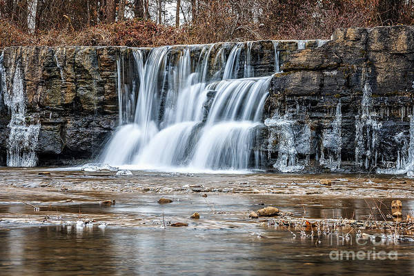 Photograph - Natures Falls by Larry McMahon