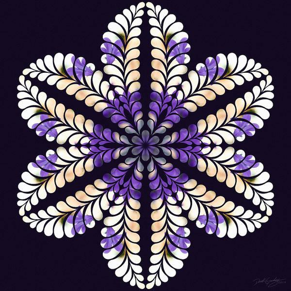 Digital Art - Nature's Mandala 01 by Derek Gedney