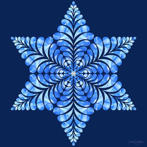 Digital Art - Nature's Mandala 08 by Derek Gedney