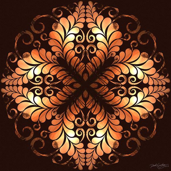 Digital Art - Nature's Mandala 38 by Derek Gedney