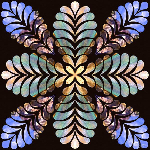Digital Art - Nature's Mandala 40 by Derek Gedney