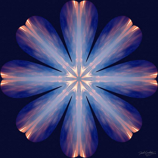 Digital Art - Nature's Mandala 54 by Derek Gedney
