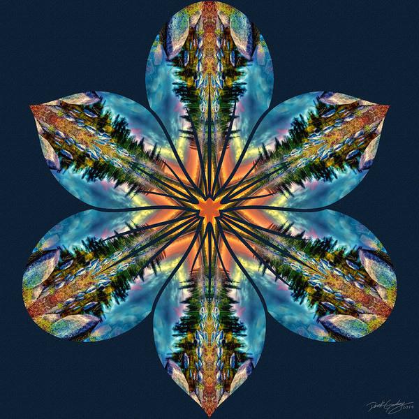 Digital Art - Nature's Mandala 59 by Derek Gedney