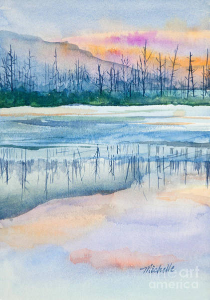 Painting - Nature's Mirror by Michelle Constantine