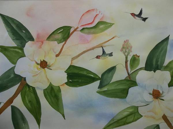 Painting - Nature's Nectar by Audrey Bunchkowski