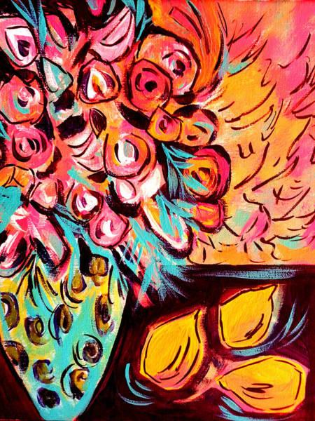 Painting - Nature's Paintbox by Nikki Dalton