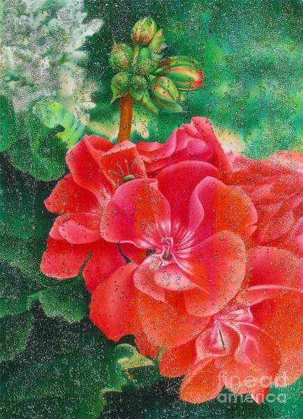 Painting - Nature's Jewels by Pamela Clements