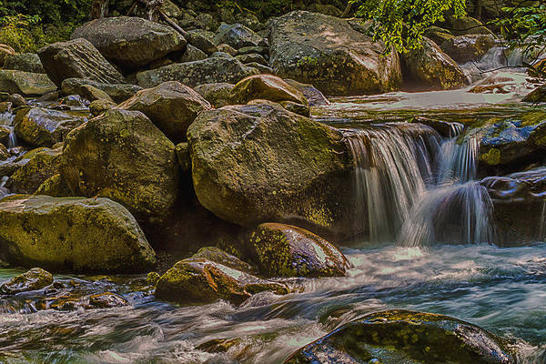 Photograph - Nature's Waterpark  by Barry Jones