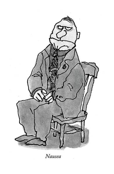 February 22nd Drawing - Nausea by William Steig