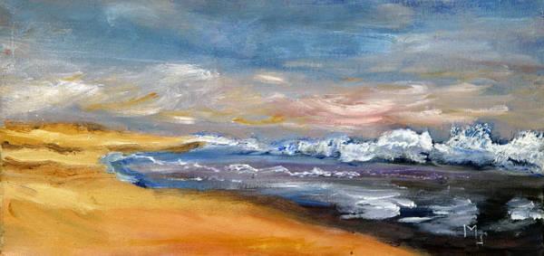 Nauset Beach Surf Art Print