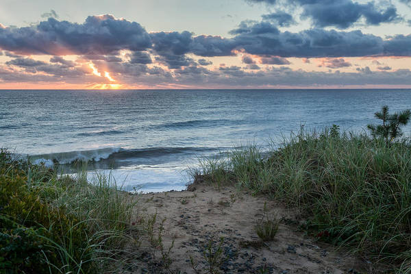 Photograph - Nauset Light Beach Sunrise by Bill Wakeley