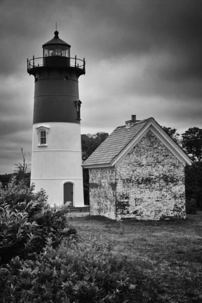 Photograph - Nauset Light by Ben Shields