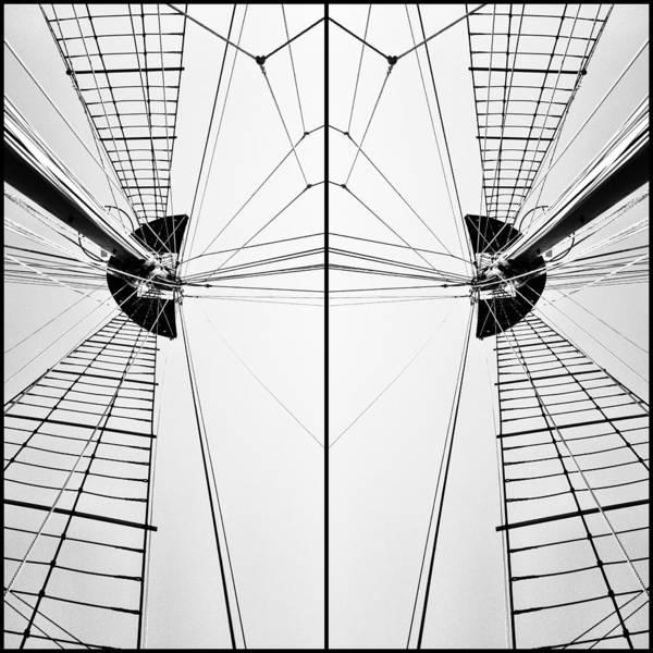 Photograph - Nautical Symmetry by Natasha Marco