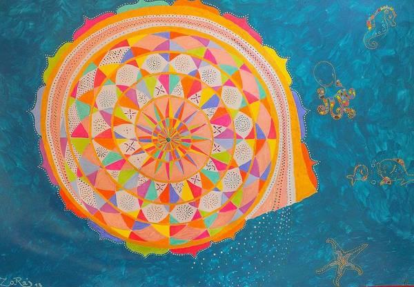Priceless Painting - Nautilus Mandala by Mauro Zaraj