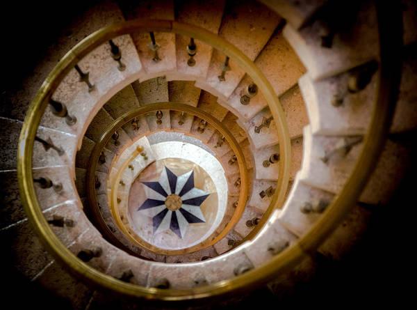 Photograph - Nautilus Shell Staircase by Karen Wiles