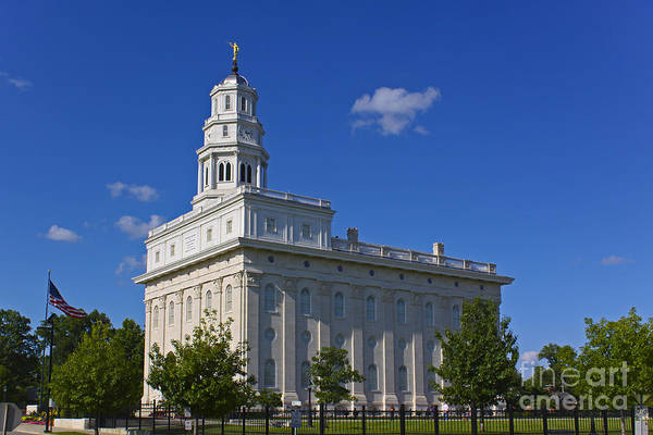 Photograph - Nauvoo Temple by Richard Lynch