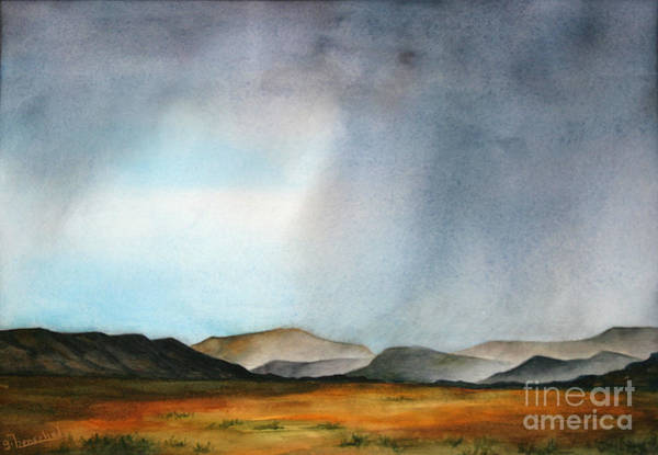 Painting - Navajo Storm by Glenyse Henschel