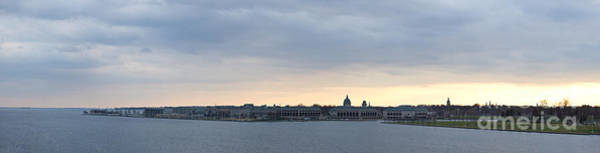 Wall Art - Photograph - Naval Academy By Day Panorama by Benjamin Reed