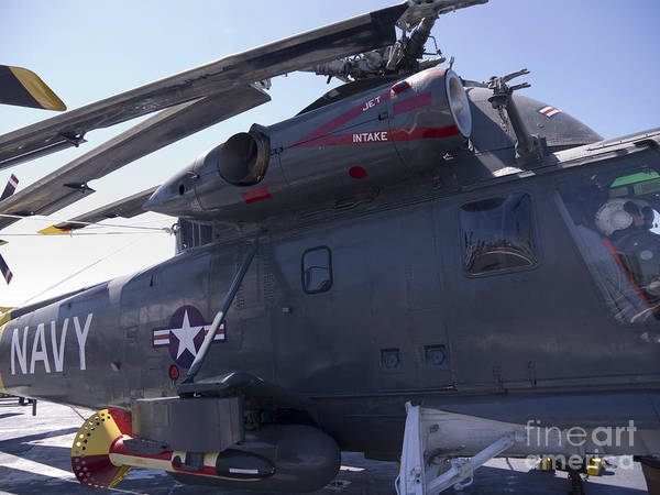 Photograph - Naval Helicopter by Brenda Kean