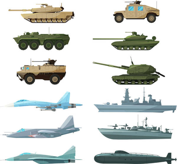 Archival Digital Art - Naval Vehicles, Airplanes And Different by Onyxprj