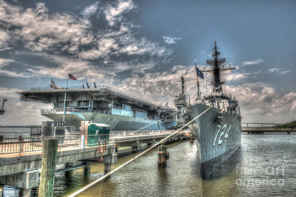 Photograph - Naval Warfare by Dale Powell