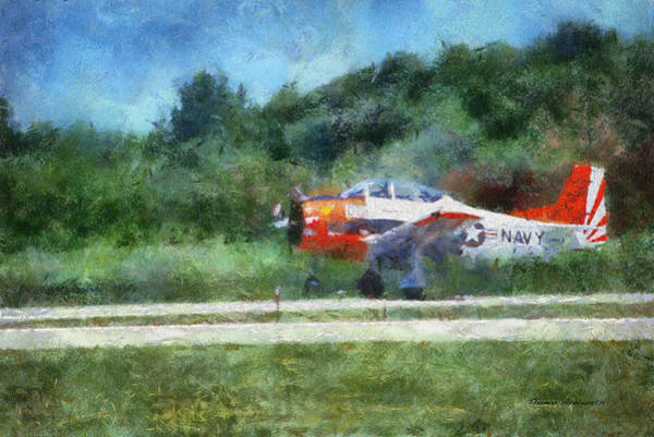 Wall Art - Photograph - Navel Plane Wheels Up Photo Art by Thomas Woolworth