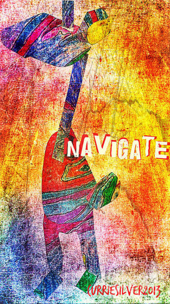 Navigate Art Print by Currie Silver