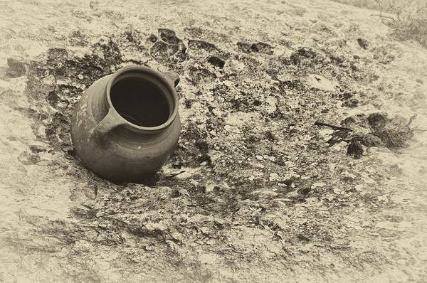 Photograph - Nazareth Pottery 1 by Mark Fuller
