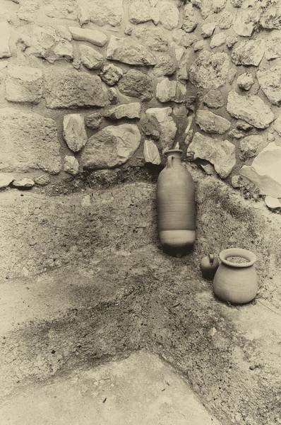 Photograph - Nazareth Pottery 2 by Mark Fuller