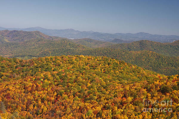 Photograph - Nc Mountains In The Fall by Jill Lang