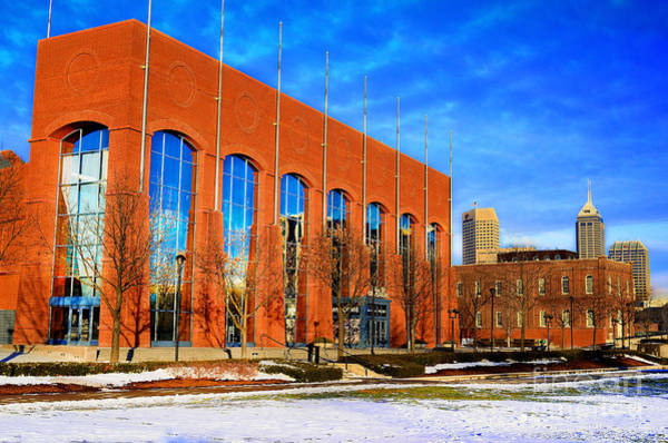 Photograph - Ncaa Hall Of Champions Winter by David Haskett II