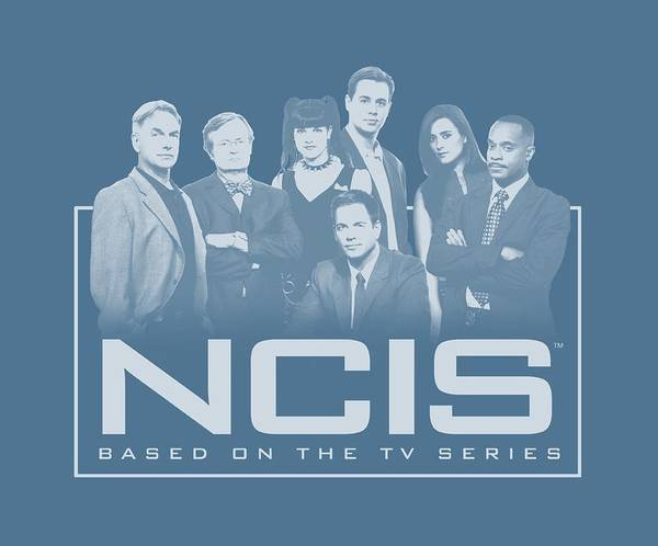 Shows Digital Art - Ncis - The Gangs All Here by Brand A