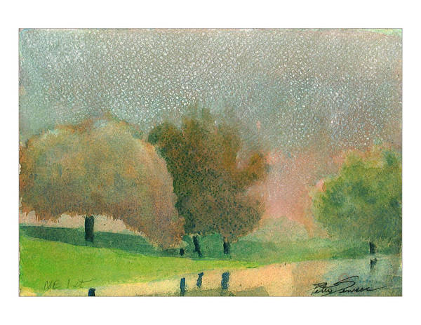 Painting - Ne 1st St by Peter Senesac