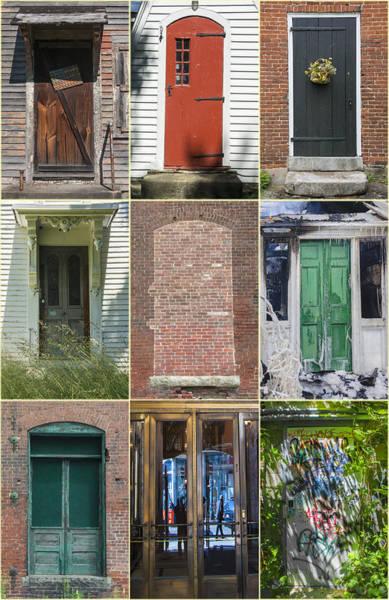 Photograph - N.e. Doorways by David Phoenix