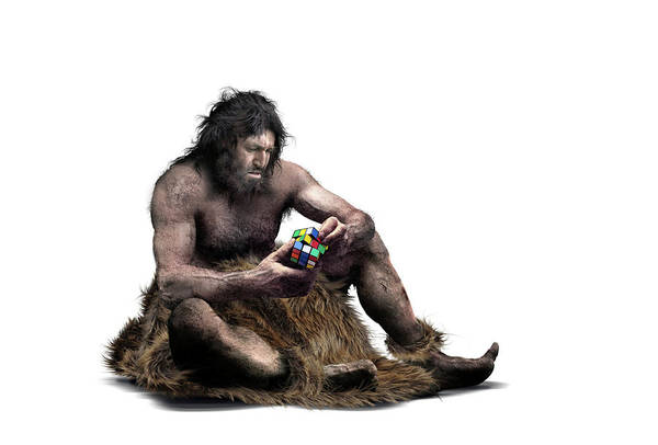 Wall Art - Photograph - Neanderthal Intellect by Smetek/science Photo Library