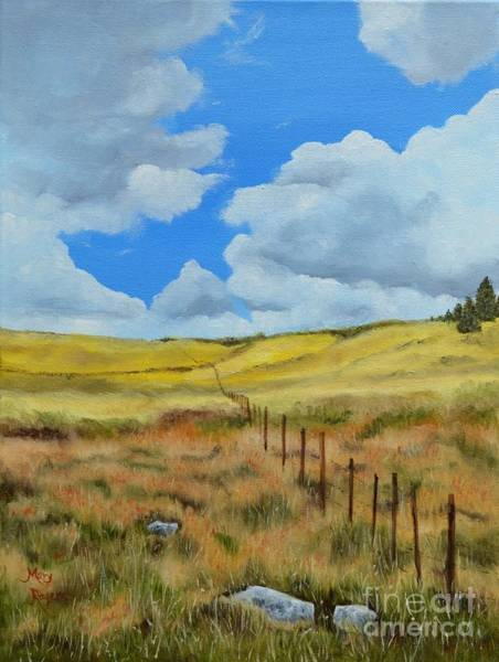 Mary Rogers Painting - Near Chama by Mary Rogers