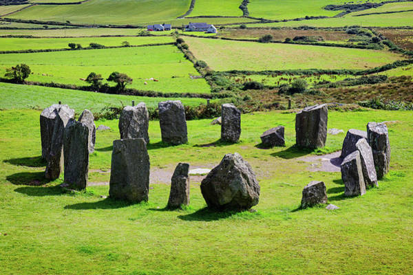 Bronze Age Wall Art - Photograph - Near Glandore, County Cork, Republic by Panoramic Images