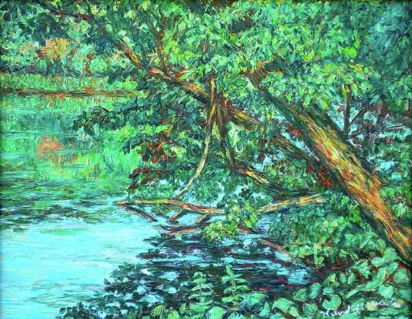 Painting - Near The Dedmon Center by Kendall Kessler
