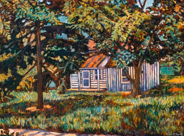 Painting - Near The Tech Duck Pond by Kendall Kessler