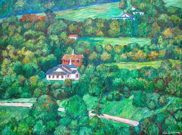 Painting - Near Tuggles Gap by Kendall Kessler