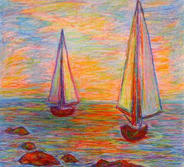Painting - Nearing The Shoals by Kendall Kessler