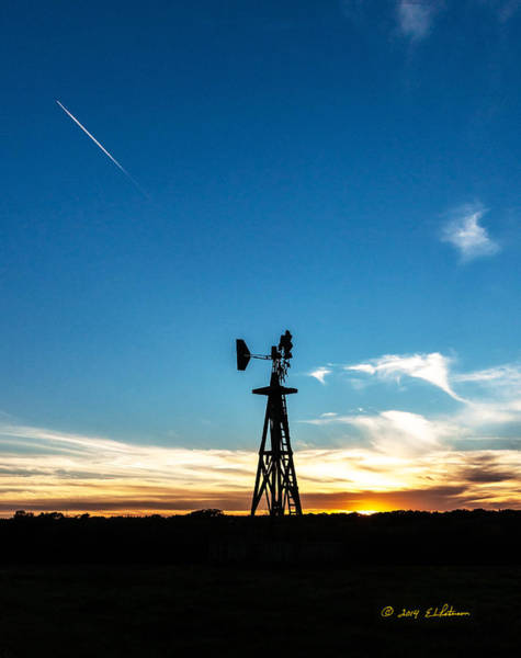 Photograph - Nebraska Evening by Edward Peterson