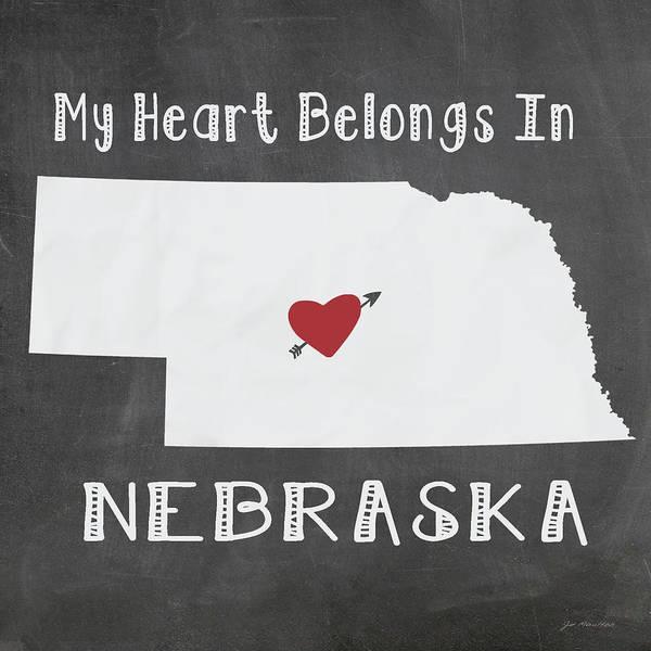 Nebraska Painting - Nebraska by Jo Moulton