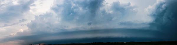 Photograph - Nebraska Shelf Clouds A Cometh by NebraskaSC