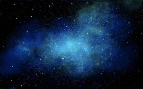 Nocturnal Wall Art - Painting - Nebula Mural by Frank Wilson