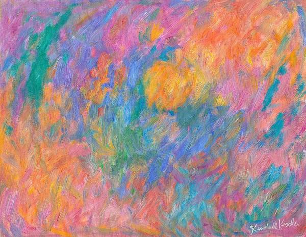 Painting - Nebulous Pink by Kendall Kessler